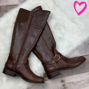 Brown G by Guess riding boots size 7.5